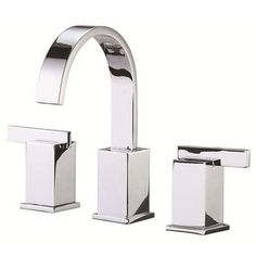 Danze Widespread Sirius Polished Chrome Faucet with Touch-down Drain