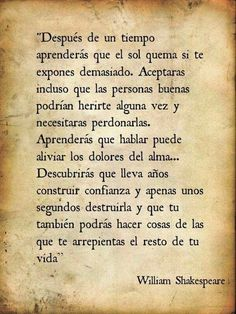 Life Quotes : Me enamore. - The Love Quotes Favorite Quotes, Best Quotes, Love Quotes, Funny Quotes, Willian Shakespeare Frases, More Than Words, Some Words, Words Quotes, Sayings
