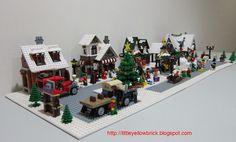 lego winter village - Google Search