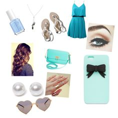 carnival date by gabby-trunzo on Polyvore featuring polyvore fashion style Lavender Brown Abercrombie & Fitch BCBGMAXAZRIA Banana Republic Nouv-Elle Wildfox Essie