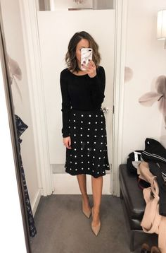 Fitting Room Snapshots (Loft & Ann Taylor) ~ Lilly Style - outfits for mass or church - Business Professional Outfits, Business Outfits Women, Business Attire, Business Casual, Business Fashion, Young Professional, Corporate Outfits For Women, Business Formal, Business Look