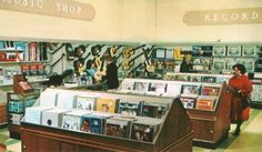 Music Dept. 1963, the downtown Denver, Colorado Woolworth's