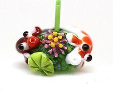 Made to order Margo lampwork beads koi pond