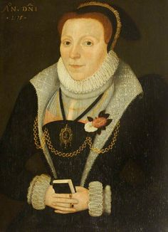 Portrait of an Unknown Lady Wearing the White Rose of York and the Red Rose of Lancaster