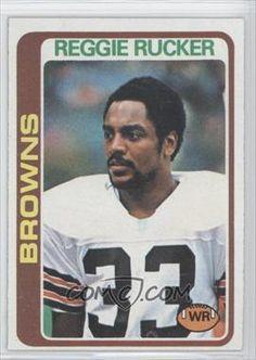 1978 Topps #473 - Reggie Rucker