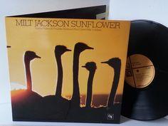 MILT JACKSON sunflower, CTI 6024, gatefold - JAZZ, BLUES, Jazz-rock-prog, nearly jazz and nearly blues!