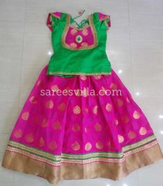 Here are some latest collection of party wear designer lehenga choli patterns for kids. They are simple but, they look elegant. Baby Frock Pattern, Baby Girl Dress Patterns, Baby Dress Design, Dresses Kids Girl, Kids Outfits, Baby Lehenga, Kids Lehenga, Kids Blouse Designs, Kids Ethnic Wear