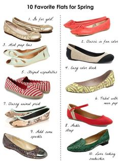 10 Favorite Flats for Spring + How to Wear Them - Henry Happened