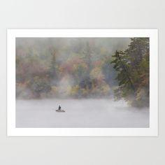 Foggy Fall Fishing