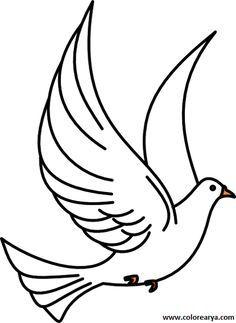 Uçan Kuş Resmi Boyama 1 15 Temmuz Birds Art Ve Clip Art