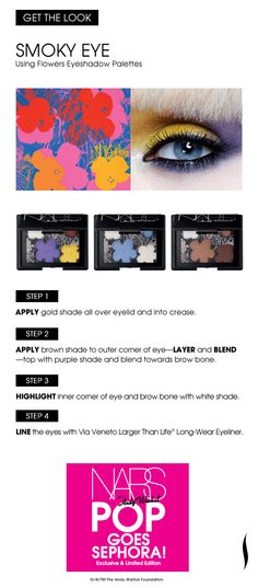 Get the Look: Smoky Eye #NARS #Sephora