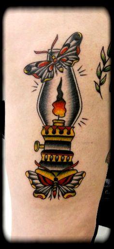 oil lamp tattoo - Google Search