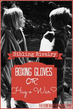 What to do when siblings fight.  A parent's helpful idea bank.