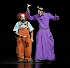 Clowns of Cirque du Soleil perform 'Alegria' at Ahoy on December 6 2012 in Rotterdam Netherlands