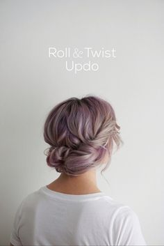Cute hairstyles for mid-length hair. Also this color.