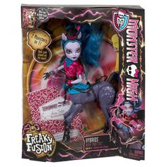 MONSTER HIGH FREAKY FUSION HYBRIDS AVEA TROTTER DOLL RARE FIGURE TOY in Dolls & Bears, Dolls, Clothing & Accessories, Fashion, Character, Play Dolls   eBay