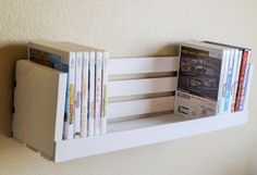 Video juego de DVD/Cd almacenamiento-vivero por WoodenCrateGallery