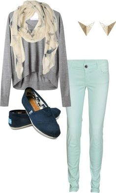 Wish | Ice Blue Jeans Outfit