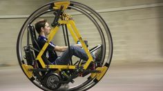 EDWARD (Electric Diwheel With Active Rotation Damping) ...still cool!