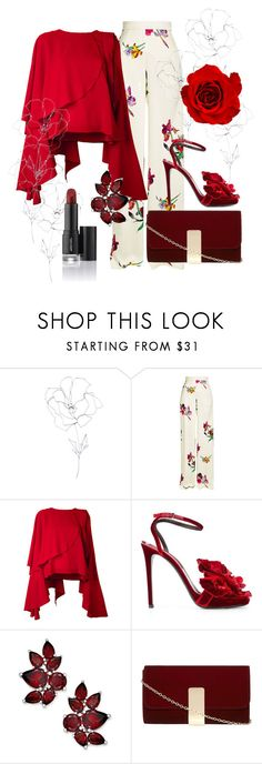 """""""My love is like"""" by karin-davidson ❤ liked on Polyvore featuring Blume, Etro, Robert Wun, Ermanno Scervino and Dorothy Perkins"""