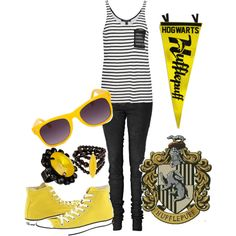 Hufflepuff outfit!-even though I'm a Gryffindor