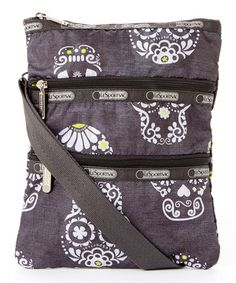 Look what I found on #zulily! Steampunk Kasey Crossbody Bag by Le Sportsac, $18 !!  #zulilyfinds