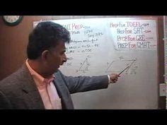 Revised GRE Math Day 371, p261 - Parallelogram - Prep Tutor via Skype GR...