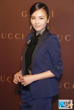 Chinese actress Liu Tao at Gucci event in Shanghai May 26, 2014
