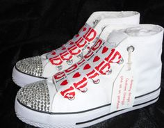 Mouse over image to zoom  Have one to sell? Sell it yourself Details about  ONE DIRECTION HIGH TOPS WITH RED 1D RIBBON LACES MADE TO ORDER BRAND NEW - $59.10  http://rover.ebay.com/rover/1/711-53200-19255-0/1?ff3=4&pub=5575074650&toolid=10001&campid=5337444095&customid=&mpre=http%3A%2F%2Fwww.ebay.com%2Fitm%2FONE-DIRECTION-HIGH-TOPS-WITH-RED-1D-RIBBON-LACES-MADE-TO-ORDER-BRAND-NEW-%2F121325043418%3Fpt%3DUK_Women_s_Shoes%26hash%3Ditem1c3f893eda