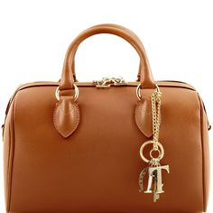 65195ef6c5f0f Tuscany Leather TL Keyluck - Saffiano leather duffle bag Leather handbags    Read more reviews of
