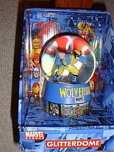 Marvel Heroes Xmen Wolverine Glitterdome Waterball Snowglobe * Be sure to check out this awesome product.Note:It is affiliate link to Amazon.