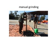 Post processing includes manual grinding. Photo Projects, Grinding, Nepal, Manual, Textbook, Ribbons