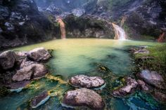 Hot springs near Segara Anak lake, Indonesia Photo: Damian Turski, Getty Images / Lonely Planet Images