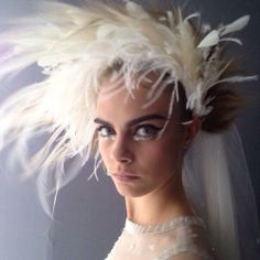 Cara at Chanel Haute Couture S/S 2014