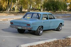 My 1964 AMC Rambler. At 16...got my license... Dad went to the car lot to buy a Plymouth, Barracuda... he came home with this.