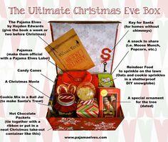 Christmas Eve box.  I always get Xmas pj's on Xmas eve, I will definitely do this with my family