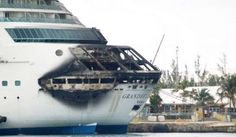 Another fire onboard a cruise ship.