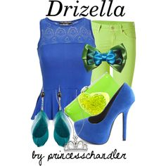 """Drizella"" by princesschandler on Polyvore"