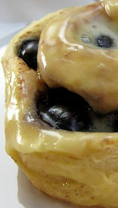 Orange Blueberry Cinnamon Rolls