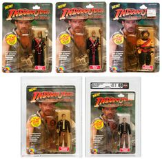 Indiana Jones and the Temple of Doom action figures
