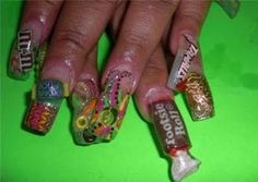 Life With 4 Boys: 10 Outrageous Nail Art Designs!