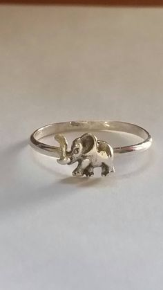 Check out this item in my Etsy shop https://www.etsy.com/listing/269506780/elephant-ring-stacking-rings-sterling