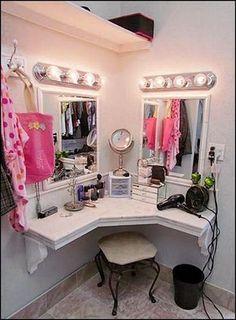 Frauen lieben Make-Up! Mit diesen 13 Make-Up Tischen zum selbstmachen wird das Schminken noch toller! - Seite 6 von 13 - DIY Bastelideen
