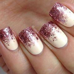 pink glitter tip