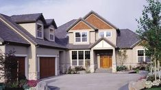 Eplans Craftsman House Plan - Appealing Combination - 3540 Square Feet and 3 Bedrooms from Eplans - House Plan Code HWEPL01839