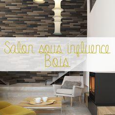 """Le bois matière noble apporte un cachet indéniable aux grandes pièces d'une maison : la salon, un lieu de rassemblement chaleureux et à la fois détente! Quoi de plus tendance qu'une matière """"green"""" qui s'exprime naturellement, ou sous couleurs, pour apporter une touche atypique : authentique ou moderne."""