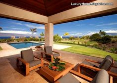 Beautiful Hawaiian Home #luxury #homes #house #Hawaii #estate #design #architecture
