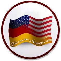 German American pin