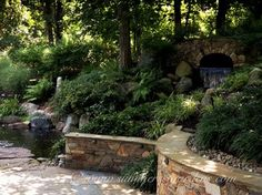 Pond, Waterfall & Patio in Rockland County - eclectic - landscape - new york - Summerset Gardens/Joe Weuste