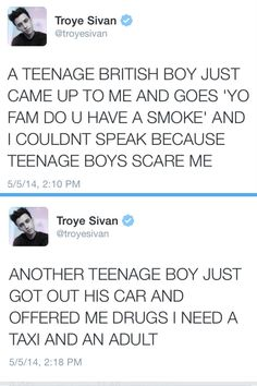 Troye Sivan you are the cutest thing ever oh my God